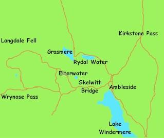 Grasmere Lake District Cumbria England